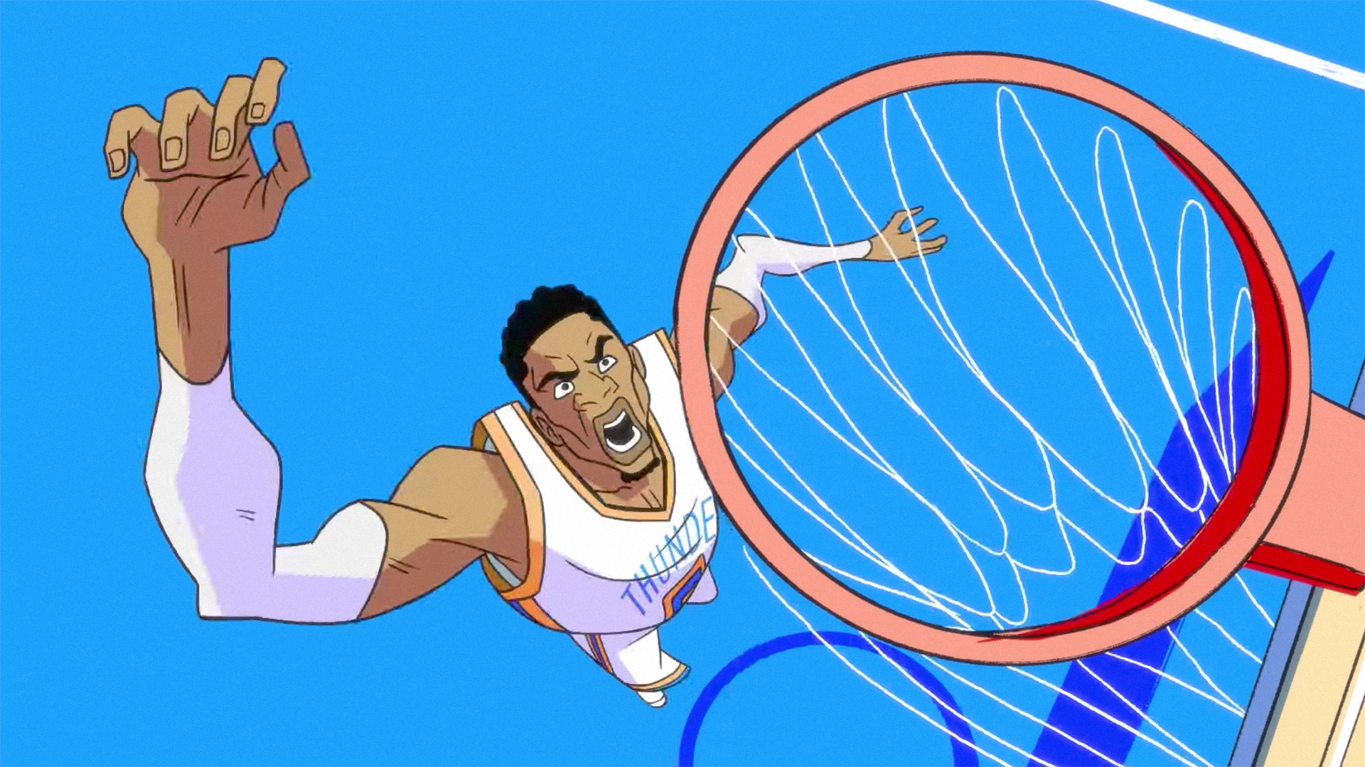 WHAT  A new animated ad to celebrate Russell Westbrook s NBA MVP award 2ae76fc84