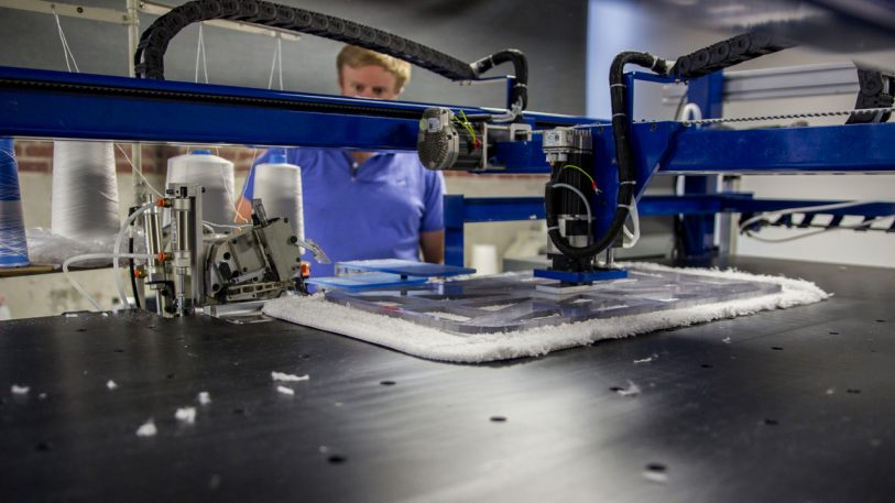 This T-Shirt Sewing Robot Could Radically Shift The Apparel Industry