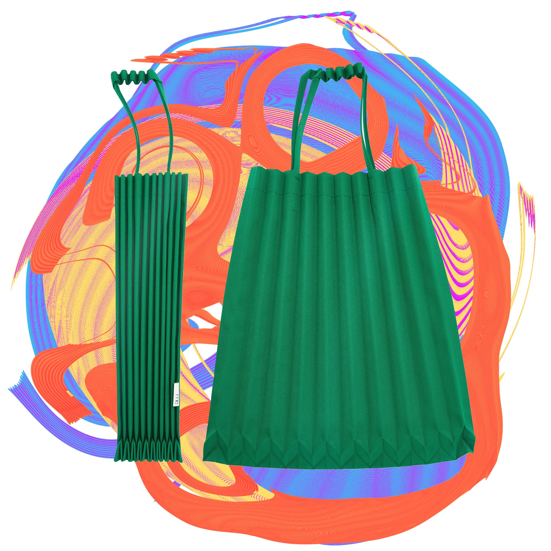 An affordable Issey Miyake bag