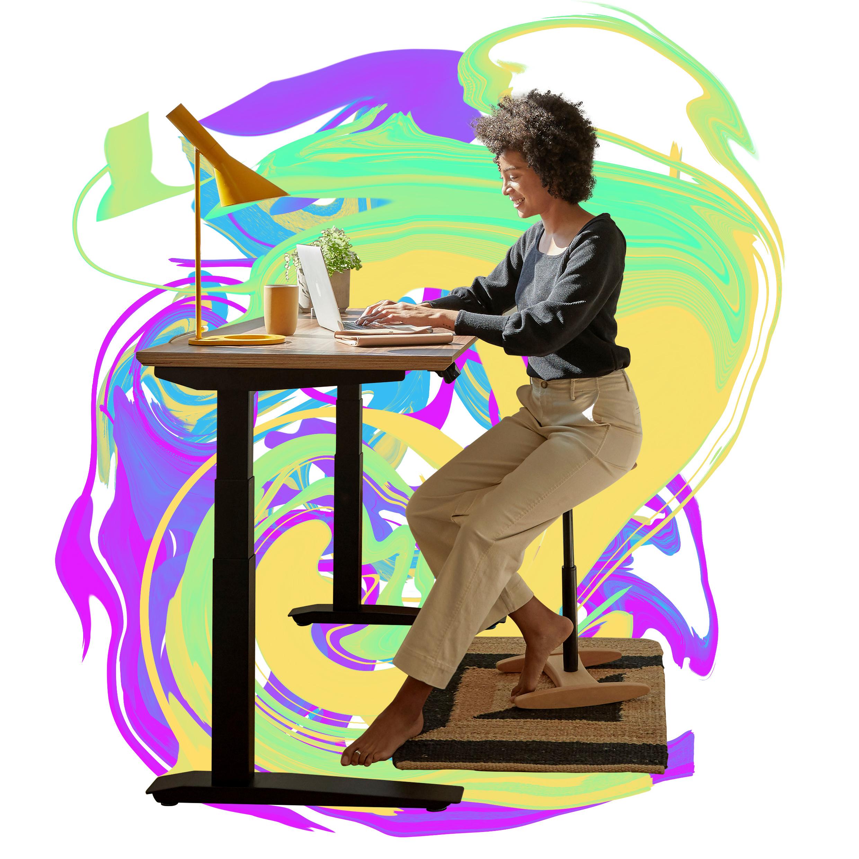 A smarter standing desk