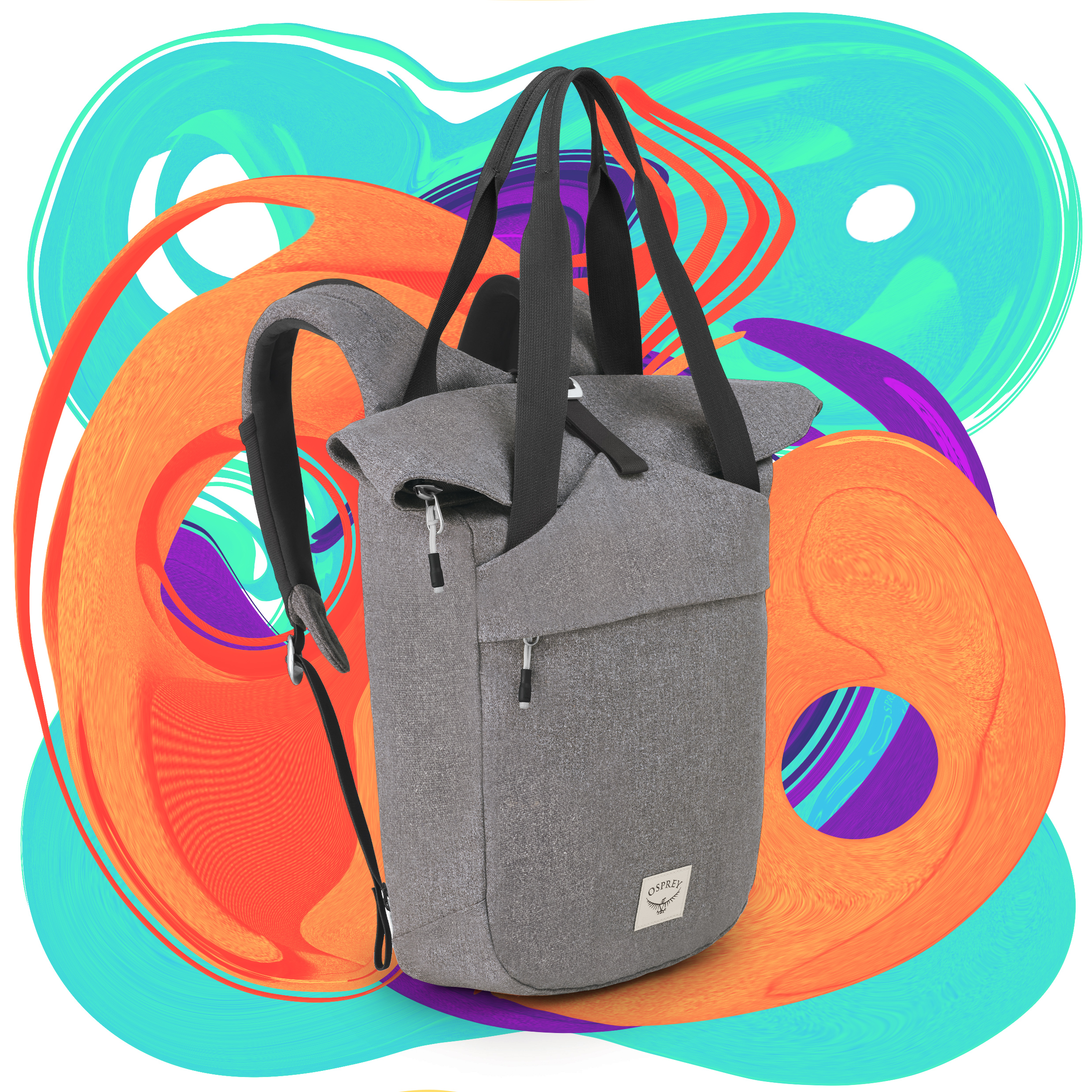 A backpack and tote in one